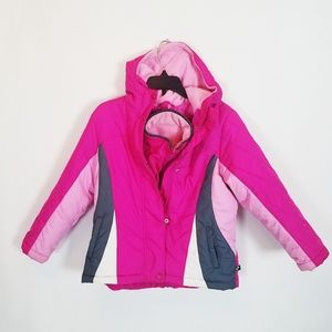 Rothschild Pink Double Jacket Winter Coat 5/6